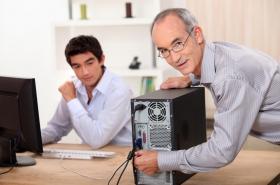 תמיכה ואחזקה של ציוד מחשבים ותקשורת